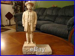 Vintage Jack Daniels Back Bar & Store Display Figure RARE Plasto Mfg Co 13.5