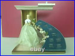 Vintage Jewelry Store Display Advertising Engagement Wedding Ring Cake Topper
