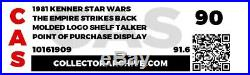 Vintage Kenner Star Wars ESB Store Shelf Talker Point Of Purchase Display CAS90