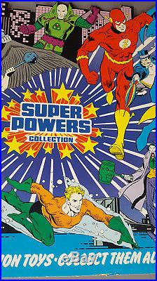 Vintage Kenner Super Powers Series 1 Store Display Header Card in great shape