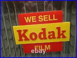 Vintage Kodak Camera FILM Store Counter Or Wall Advertising DISPLAY Dispenser 2