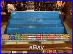 Vintage LIFE SAVERS Mints Candy Retail Display Case WATCH VIDEO