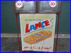 Vintage Lance Cracker Jars Store Display