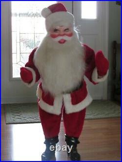 Vintage Large Harold Gale Santa Store Christmas Display