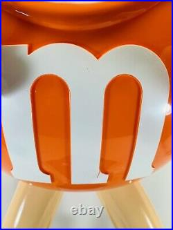 Vintage Large Orange M&M Store Display