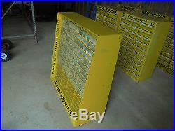 Vintage Large Weatherhead Tool Parts Bin Cabinet Advertising Display Hardware