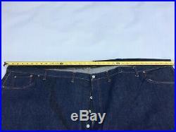 Vintage Levis Store Display 501 Big E Hidden Rivets Denim Jeans 76x45