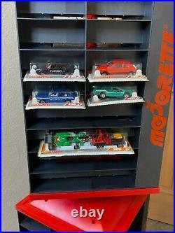 Vintage Majorette 200/300 Ser Rotating Store Shop Display Rack Red/Black 56.5