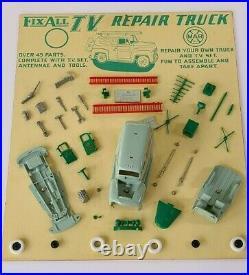 Vintage Marx Store Display Fix All Tv Repair Rca Panel Truck Rare