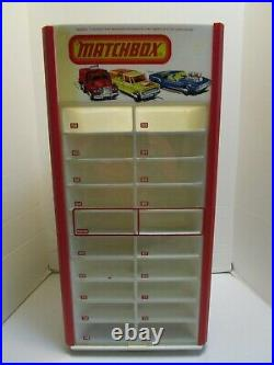 Vintage Matchbox Store Dispaly