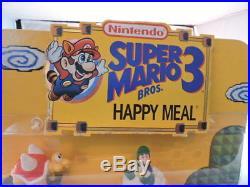 Vintage McDonalds Super Mario Bros 3 Happy Meal Store Display, complete, nice