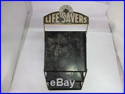 Vintage Metal Life Saver's Store Display, 114-l