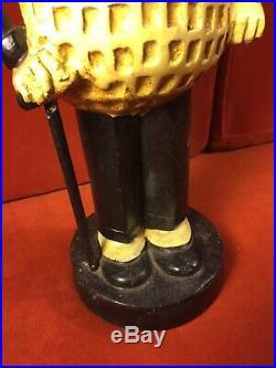 Vintage Mr. Peanut Statue Store Display Planters Peanuts