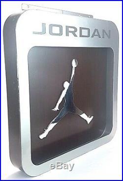 Vintage Nike Air Jordan Icon Logo Metal Store Display OG I III IV V VI VII VII