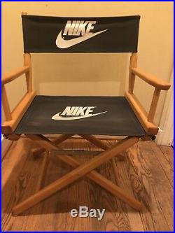 Vintage Nike Directors Chair Store Display 1990s 90s Advertising Rare