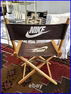 Vintage Nike Directors Chair Store Display Air 1980s-90s Advertising Rare