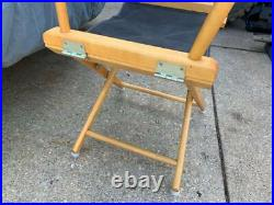 Vintage Nike Directors Chair Store Display Just Do It 1990s 90s Advertising Rare