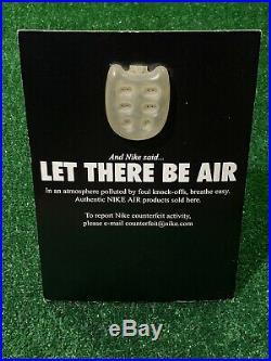 Vintage Nike Let There Be Air Sneaker Store Display