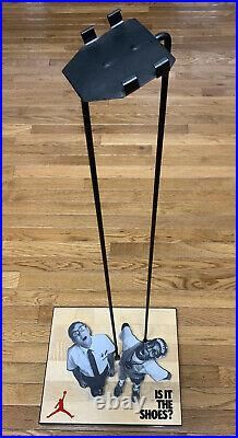 Vintage Nike Michael Air Jordan Stand Spike Lee Store Shoe Display Rare Retro