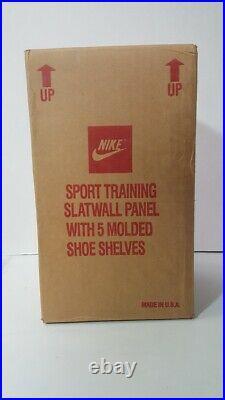 Vintage Nike Slot Wall Shoe Display