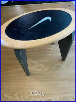 Vintage Nike store display, Nike Bench Stool Sneakers Shoes Clothing