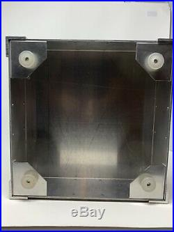 Vintage Oakley Sunglass Display Case Vault Aluminum X Metal Original keys