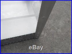 Vintage Oakley X-Metal Solid Aluminum Table Top Shelf Display Case Single Shelf