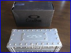 Vintage Oakley X-Metal Vault Display Case New Store Display