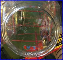 Vintage Original LANCE 4 Jar Snacks Rack + Chip Clip Country Store Display XLNT