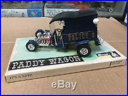Vintage Original Monogram 1/24 Scale 1960's Paddy Wagon Store Display