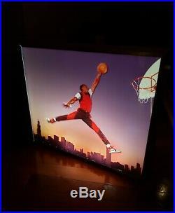 Vintage Original Nike Air Jordan 1985 Store Light Box Sign