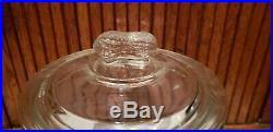 Vintage PLANTERS PEANUT JAR with PEANUT HANDLE -STORE DISPLAY