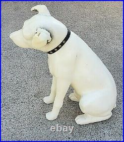 Vintage RCA Victor Nipper Dog 18 Plastic Store Display Dog Rare