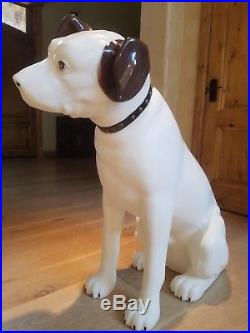 Vintage RCA Victor Nipper Dog, 37 Store Display, Hard Plastic