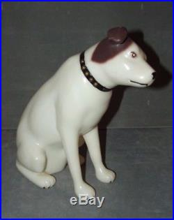 Vintage RCA Victor Nipper Dog Plastic Store Display Advertising 10.5 Rare
