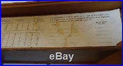 Vintage REMINGTON Hi Speed 22 Ammo Wood Store Display Counter Case Advertising