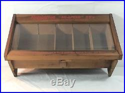 Vintage Remington High Speed 22s Kleanbore Wood Countertop Store Display Case