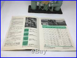 Vintage Salesman Sample Chain Link Fence Co Montgomeryville PA 1960s With Brochure