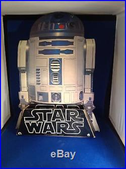 Vintage Star Wars Cardboard Cutout Standup R2-d2 Record Store Display