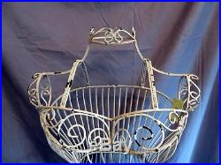 Vintage Style Distressed Metal Wire Dress Form Mannequin Boutique Store Display
