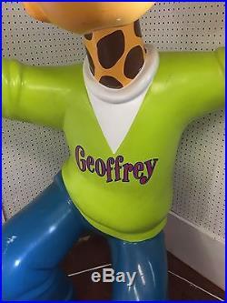 Vintage TOYS R US Geoffrey The giraffe Advertisement Store Display Giant 7