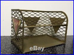 Vintage Tom's Snack Company Metal Wire Countertop Shelf (Chips, Peanuts)