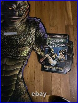Vintage Universal Monsters Creature From The Black Lagoon Store Display Standee
