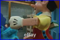 Vintage Walt Disney Pinocchio Fiberglass Store Display Lifesize Statue Prop