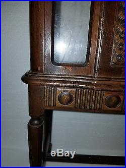 Vintage Westinghouse Cabinet Radio Salesman Sample Display Stereo Console