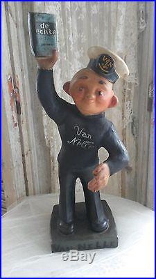 Vintage advertising figure, van Nelle tobacco, sailor, 1920-1930, RARE, store display