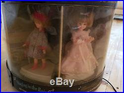 Vintage the Wonderful World Of Penny Brite Topper Carousel store display Dolls