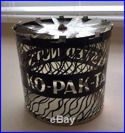 Vntg Ko Pak Ta Toasted Nuts Advertising Store Display Motion Lamp Original Box