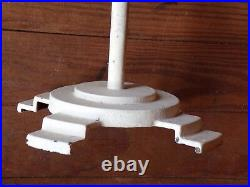 Vtg 1930's Art Deco Cast Iron Pedestal Store Display General Candy Clothing