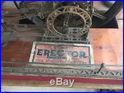 Vtg 20s 30s GILBERT ERECTOR Set WALKING BEAM Steam ENGINE STORE DISPLAY